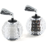 Golf Ball & Iron Salt & Pepper Mills Set