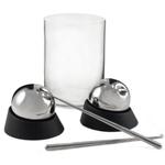 Soiree 12 Piece Chilling Sphere and Luigi Bormioli Glass Set