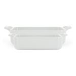 Revol Belle Cuisine White Porcelain 2 Piece Rectangular Roasting Dish Set