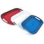 Le Creuset Patriotic Stoneware Serving Platter, Set of 3