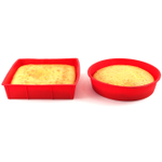 HIC Essentials Red Silicone Valentines Day Practical Heart Cake Kit