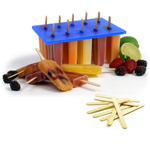 Norpro Frozen Ice Pop Maker with 100 Free Wooden Sticks
