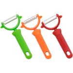 Messermeister 3 Piece Stainless Steel Y Peeler Set