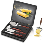 Boska Holland Monaco Black Cheese Gift Set and Cheese Slicer Mini