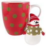 Mug Buddy Snowman Mug and Spoon Rest Set