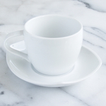 Dansk Dinnerware Classic Fjord 8 Piece Porcelain Cup and Saucer Tea Set