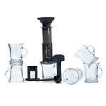 Aerobie AeroPress Coffee and Espresso Maker with 6 Cafe Mocha Mugs