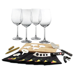 Wusthof 21 Piece Gourmet Cheese and Wine Party Kit