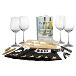 Wusthof 22 Piece Gourmet Cheese and Wine Party Kit with Book