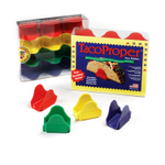 TacoProper Multicolored Plastic 12 Pack Taco Holder Set