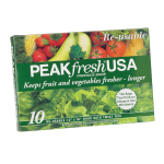 PEAKfresh 10 Pack Reusable Produce Bags
