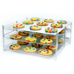 Nifty Home Products Chrome Steel Baking Rack Insert