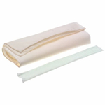Ateco Canvas 25 x 20 Inch Pastry Cloth And Rolling Pin Cover