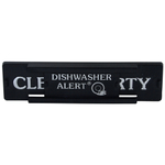 HIC Harold Import Co Black Deluxe Dishwasher Alert with Adhesive Backing
