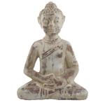 """Rustic Meditating Buddha Statue 15"""" Tall"""