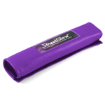 StreetGlow Purple EL Lighted Seat belt Cover