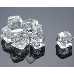 Acrylic Ice Cubes for Artificial Display, 2 Pound Bag