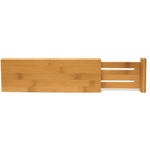 Lipper International Tall Bamboo Dresser Drawer Dividers, Set of 2
