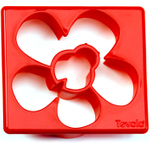 Tovolo Red Flower and Ladybug Sandwich Shaper
