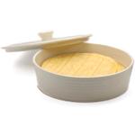 RSVP White Stoneware Tortilla Warmer