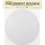 Regency 8 Inch Precut Parchment Round, Set of 24