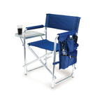 Picnic Time Blue Sports Chair