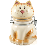 Boston Warehouse Sitting Pretty Ceramic Hinged Storage Jar