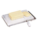 Norpro Solid White Marble Cheese Slicer & Server