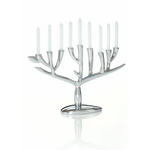 Nambe Holiday Tree of Life Menorah