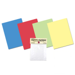 Norpro Set of 4 Mini Color Flex Mats with Regency 24 Count Hamburger Patty Papers