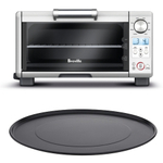 Breville BOV450XL Mini Smart Oven with 11 Inch Aluminum Nonstick Pizza Pan