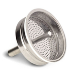 Bialetti Aluminum Replacement Funnel Filter for 12 Cup Moka Express