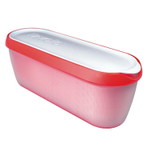Tovolo Glide-a-Scoop Strawberry Sorbet Ice Cream Tub
