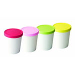 Tovolo Mini Sweet Treats Ice Cream Tub, Set of 4