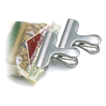 Norpro Stainless Steel Bag Clip, Set of 2