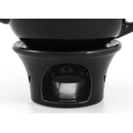 Metropolitan Tea Black Ceramic Teapot Warmer