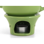 Metropolitan Tea Lime Green Ceramic Teapot Warmer