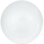 HIC Harold Import Co Coupe White Porcelain 12 Inch All-Purpose Plate, Set of 6