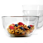 Anchor Hocking Presence Glass 6 Inch Cereal Bowl, Set of 12