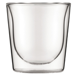 Bodum Skal 6 Ounce Double Wall Drinking Glass, Set of 2