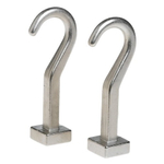 JK Adams Metal Pot Hook, Set of 2
