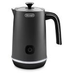 Delonghi Black Metal Hot and Cold Milk Frother