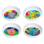 French Bull Jungle Kids Bowl, Set of 4