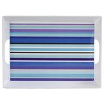 Typhoon Colored Stripes 16 x 11.75 Inch Breakfast Tray