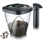 Tomorrow's Kitchen 1.3 Quart Vacuum Coffee Storage Saver with Pump