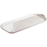 Revol French Classiques White Porcelain 15.25 x 6 Inch Cake Tray
