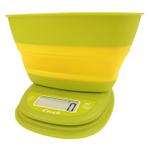 Escali Pop Garden Yellow Collapsible Bowl Scale