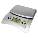 Escali Aqua Silver Gray Digital Scale