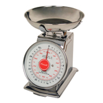 Escali Mercado Dial Scale with Stainless Steel Bowl