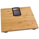 Escali Bamboo Solar Digital Bathroom Scale
